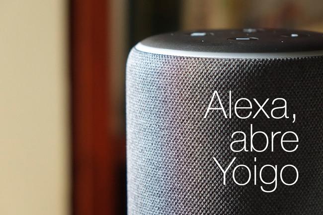 Ya puedes hablar con tu contrato de Yoigo a través de Alexa y el Amazon Echo