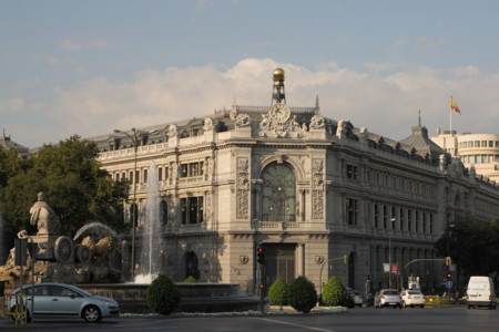 Edificio Del Banco De Espana 2 Madrid