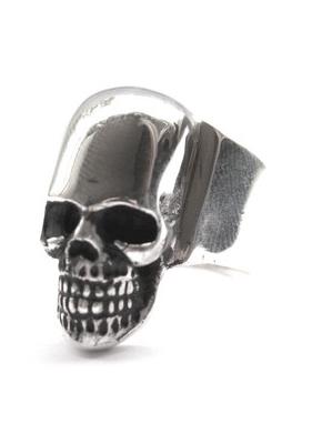 anillo skull