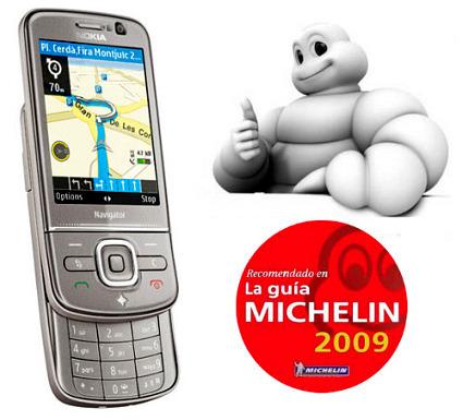 La guía Michelin, ahora en los móviles Nokia