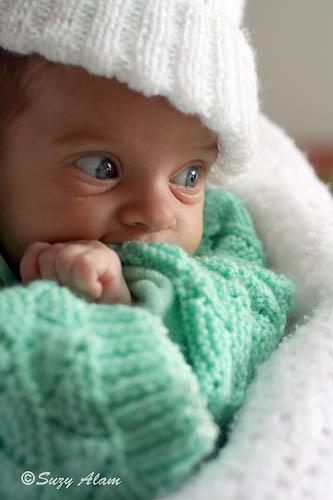 La foto de tu bebé: la calidez de Antônia