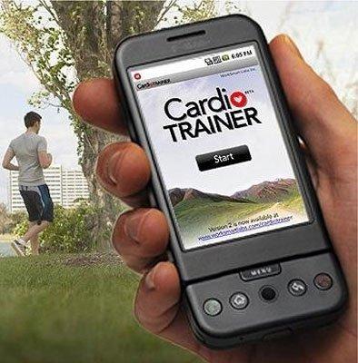 Cardio trainer, un programa que nos ayuda a ejercitarnos con android
