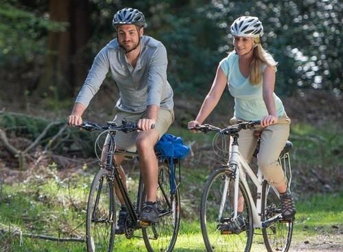 También hay GPS para bicicletas, para no perderse por la jungla de asfalto