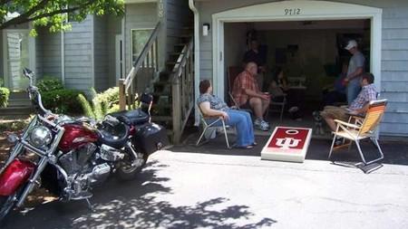 Garaje con amigos