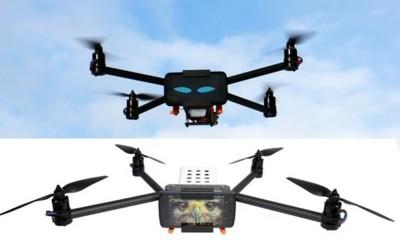 Este drone utiliza tu smartphone como cara y cerebro