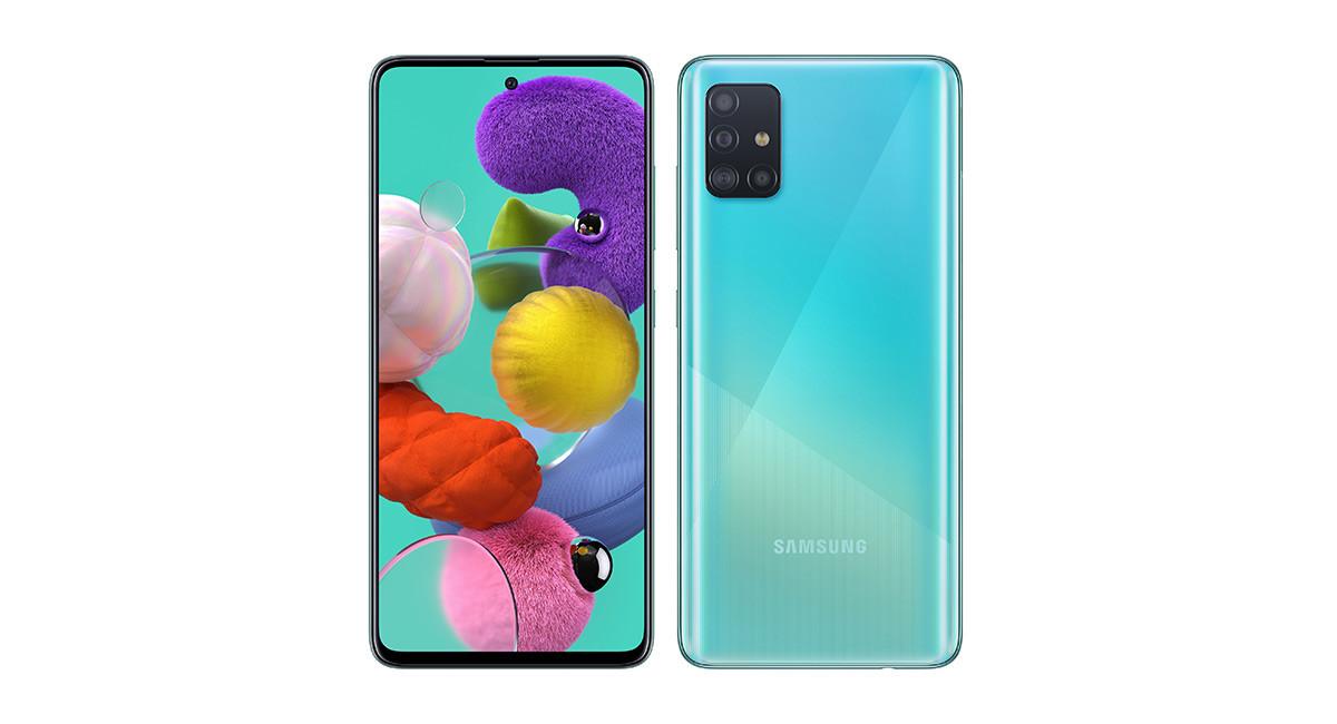 Samsung Galaxy A51, ficha técnica de características y precio
