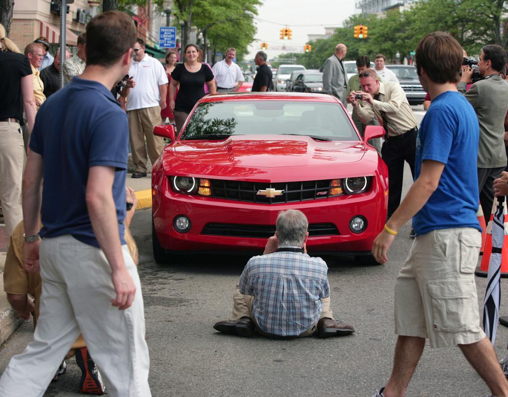 Foto de 2010 Chevrolet Camaro (28/56)