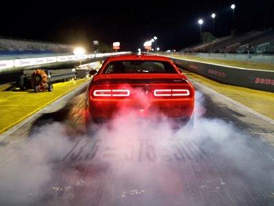 Cuatro vídeos, detalles interesantes y ¿757 CV? El Dodge Challenger SRT Demon es pura testosterona