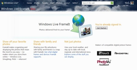 Windows Live FrameIt se actualiza y estrena SDK