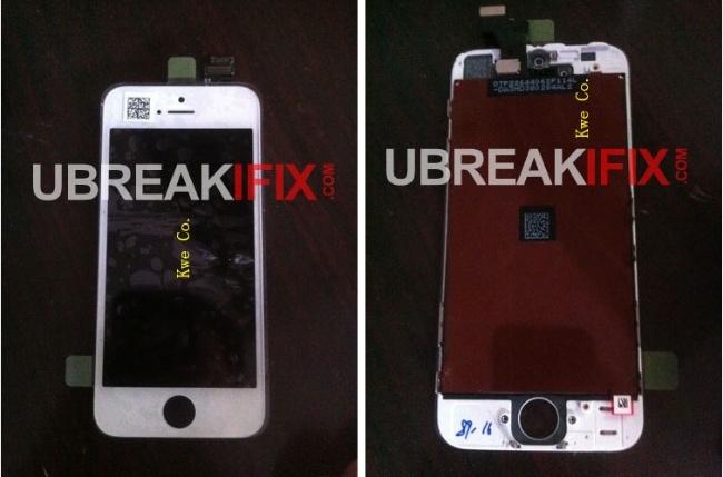 Frontal nueva versión iPhone, pantalla de 4 pulgadas