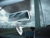 Nissan presenta un prototipo de un retrovisor inteligente