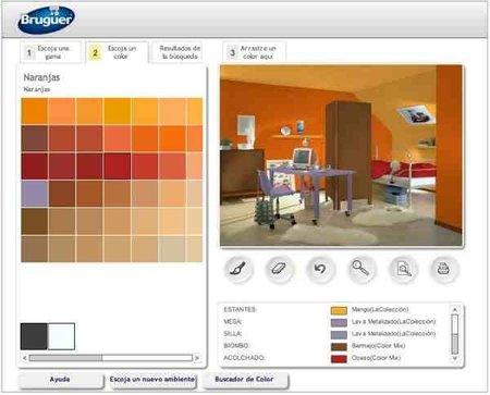 Simulador de ambientes de bruguer - Paleta colores bruguer ...