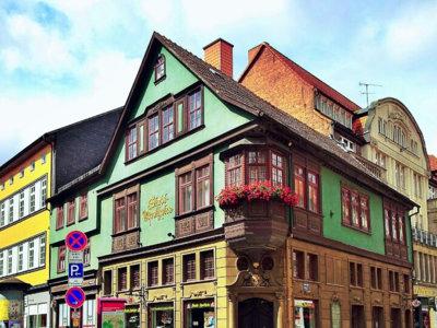 Eisenach, el pueblo de vecinos ilustres como Bach o Lutero