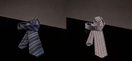 corbata estampada massimo dutti rayas