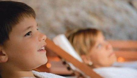 Balneario con programas para niños