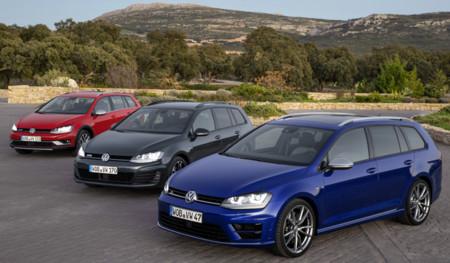 Volkswagen Golf Variant GTD, Variant R y Alltrack