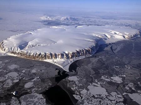 Imagen del vuelo de la Operación IceBridge