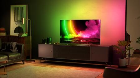 Philips anuncia el televisor OLED806: el primer modelo en 77 pulgadas, con panel 4K, tecnología anti-quemado, HDMI 2.1 y Ambiligth