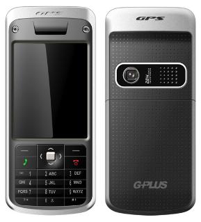 Teléfono G-Plus, con GPS y pantalla en 3D