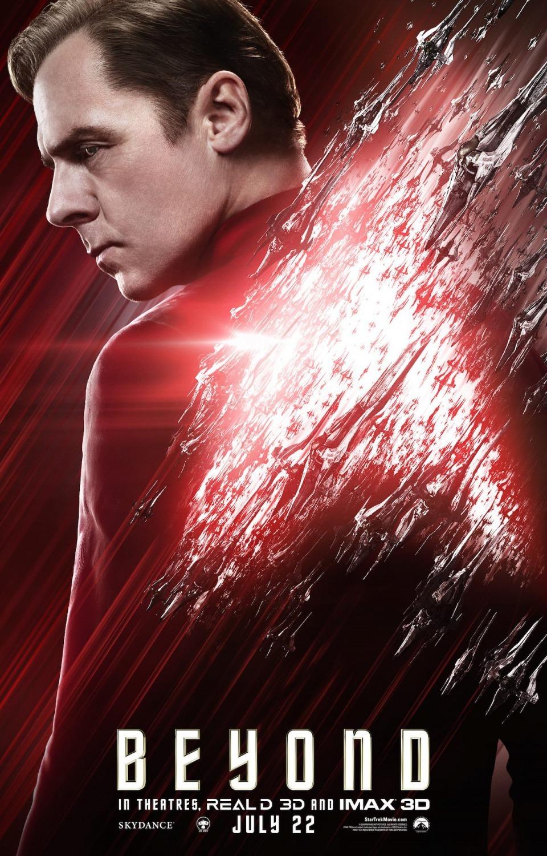 'Star Trek: Más allá', nuevos carteles de los protagonistas