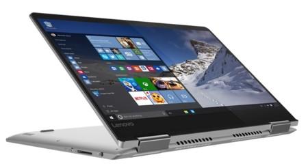 Lenovo presenta sus nuevos portátiles YOGA 710 y 510, también una tablet Windows 10 al estilo Surface