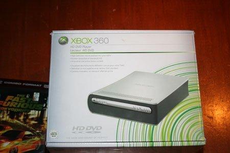Posible actualización del HD-DVD de la Xbox 360