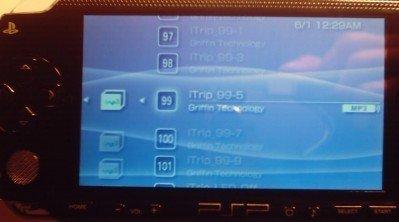 Instalar un iTrip en la PSP