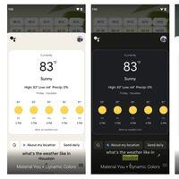 El asistente de Google se viste de Android 12 con la llegada de Material You