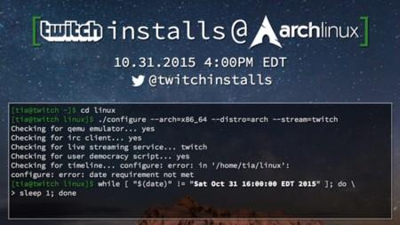 Twitch quiere seguir la estela de su partida a Pokémon… instalando Arch Linux