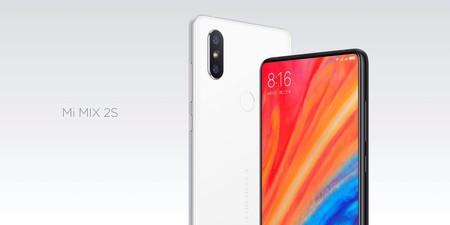 Xiaomi Mi Mix 2s, en versión global con 128GB de almacenamiento, por 360 euros y envío gratis