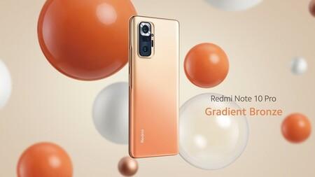 Xiaomi Redmi Note 10 Pro Oficial Color Bronce