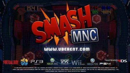'Smash M.N.C.'. Parodia de broma sobre el clásico 'Smash TV'