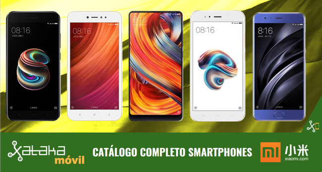 Xiaomi Mi Mix 2 y Mi Note 3, así encajan dentro del catálogo completo de smartphones Xiaomi en 2017