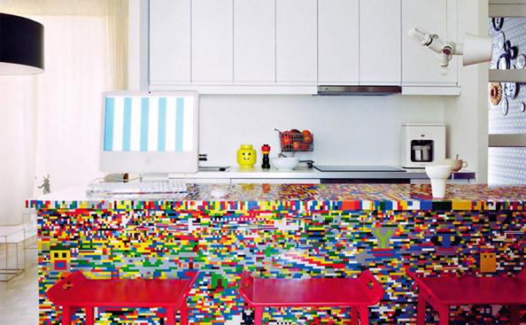 Foto de Una cocina de piezas de Lego (1/3)