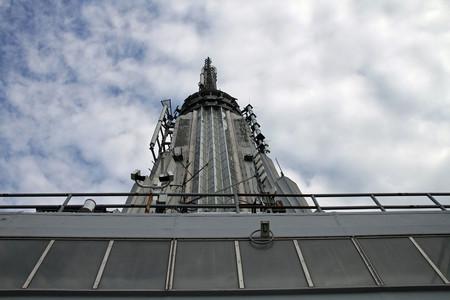 La antena del Empire State: lo que pudo ser el aparcamiento de dirigibles más alto del mundo