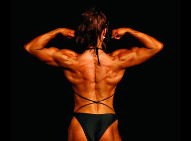 Mujer bodybuilder