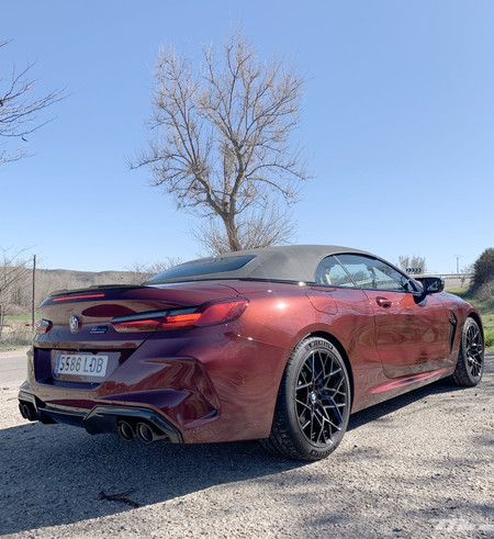BMW M8 Cabrio Competition trasera