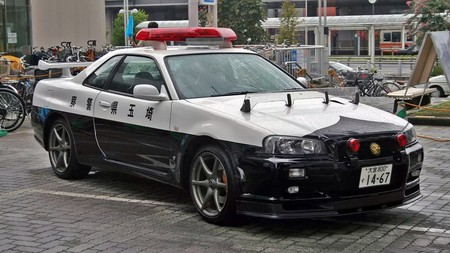 Nissan Gt R Policia Japon