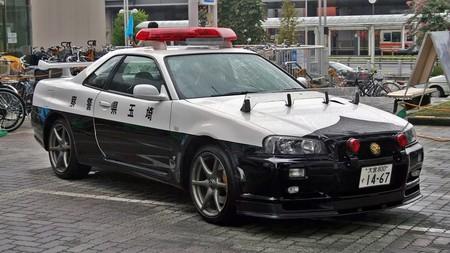 Nissan Gt R Policia Japon