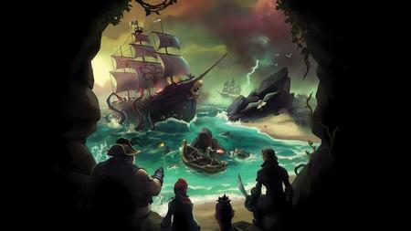 Aquí tienes una hora de gameplay de Sea of Thieves en 4K