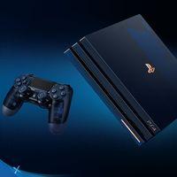 Sony celebra los 500 millones de consolas vendidas de la familia PlayStation con una PS4 Pro muy especial y limitada