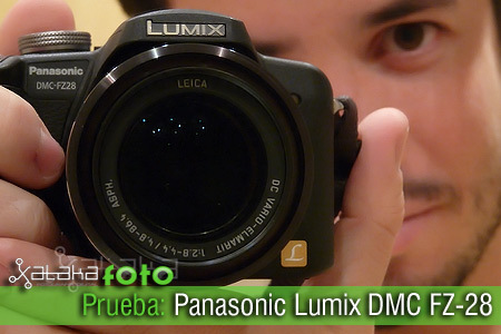 Probamos la Panasonic Lumix DMC-FZ28