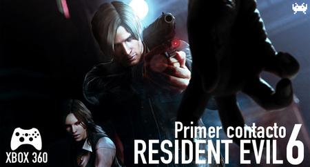 'Resident Evil 6' para Xbox 360: primer contacto