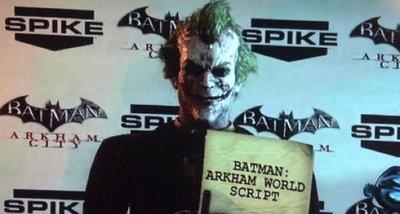 El Joker se va de la lengua y desvela 'Batman: Arkham World' [VGA 2011]