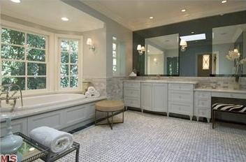 El baño de Patrick Dempsey.