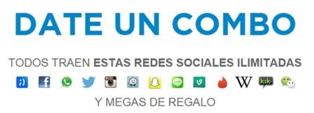 Redes sociales y apps gratis