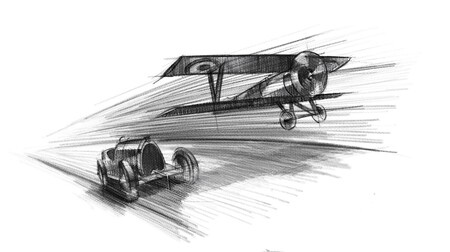 """Bugatti Chiron Sport """"Les Légendes du Ciel"""" 2021"""