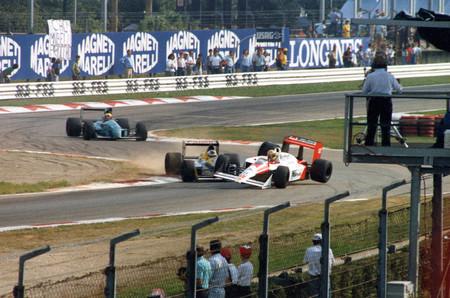 Senna Schlesser Monza F1 1988