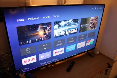 Xiaomi Mi TV P1 de 55 pulgadas, toma de contacto: su gran arma es el software