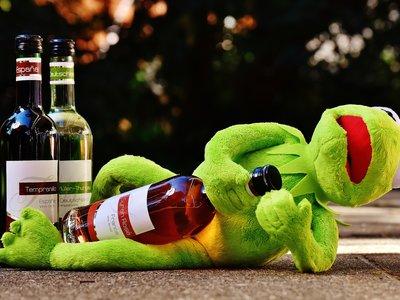 Las bebidas alcohólicas que no puedes tomar si eres vegetariano, como la mayor parte de los vinos tintos